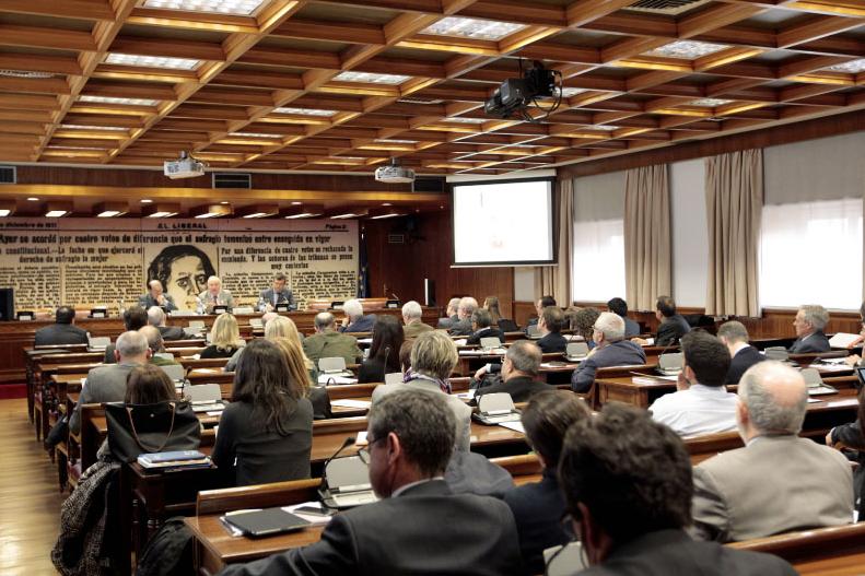 Senado, Madrid, 14 de marzo de 2018
